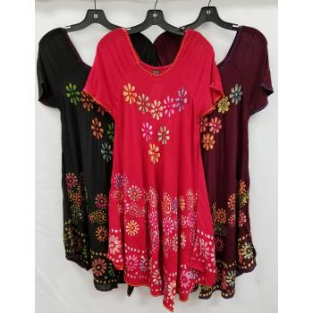 Rayon Batik Dress