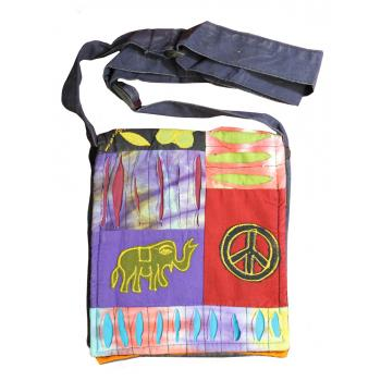 Cotton  Peace Elephant PP Bag