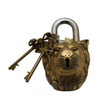 Brass Lion Lock
