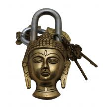 Brass Buddha Lock
