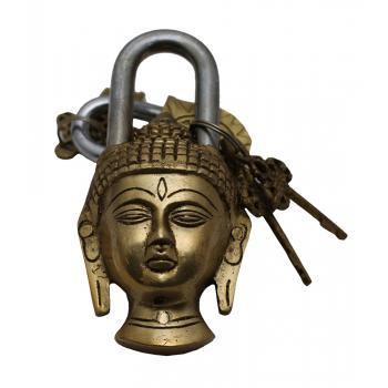 Brass Lock Buddha