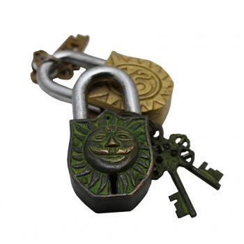 Brass Sun Lock