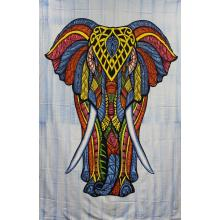 Tapestry (Elephant Face)