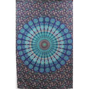 Tapestry (Peacock Mandala )