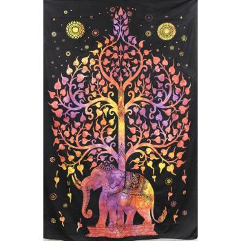 Tapestry (Elephant Tree of Life)