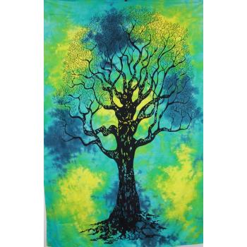Tapestry (Tie Dye Tree of Life)