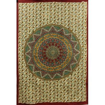 Tapestry (Star Elephant Mandala)
