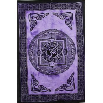 Tapestry (Om Chakra Mandala)