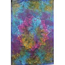 Tapestry (Tie Dye Star Mandala)