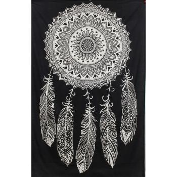 Tapestry (BW Dream catcher)