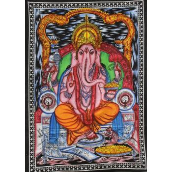 Wall Hanging (Brush Ganesh)